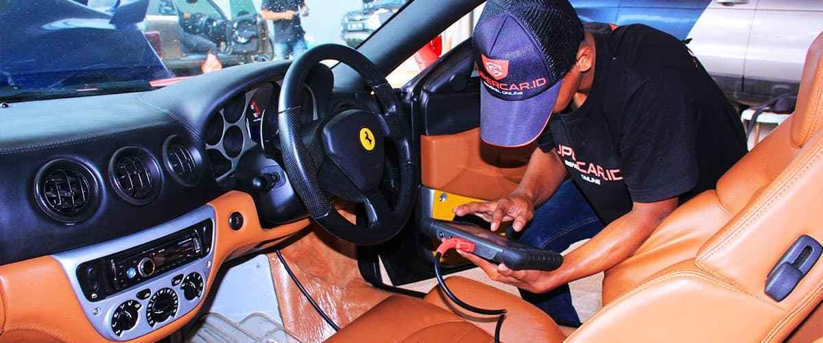 Bengkel Ferrari