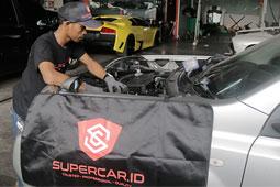 bengkel supercar
