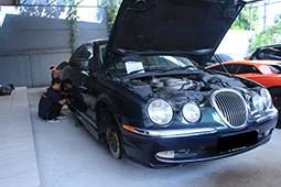 bengkel jaguar