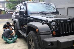 servis mobil jeep panggilan
