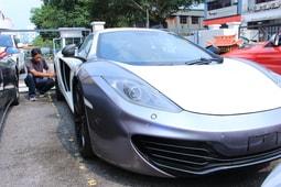Bengkel McLaren